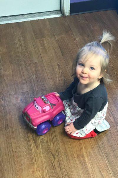 Natalie Grace: 18 months