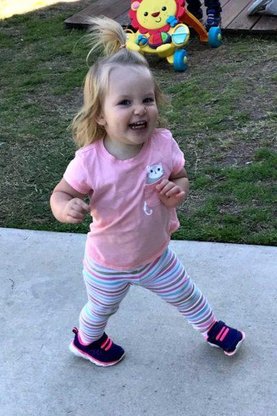 Natalie Grace: 20 months