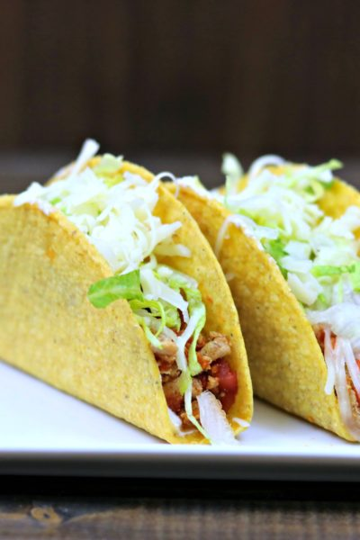 Taco Tuesday: Turkey Tacos Picadillo