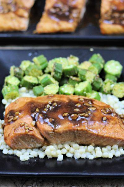 Marinated Balsamic Salmon