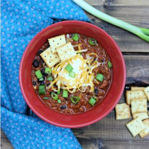 Sweet n Spicy Venison Chili
