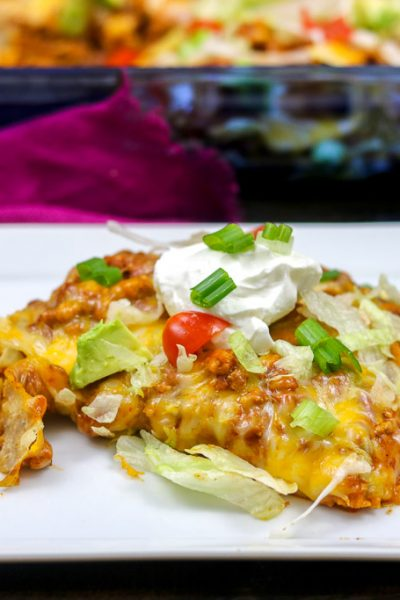 Turkey Taco Bake