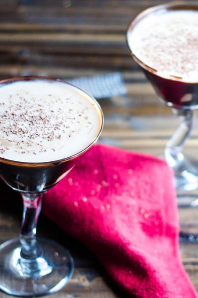 Creamy Chocolate Martini