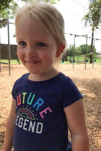 Natalie Grace: 34 Months