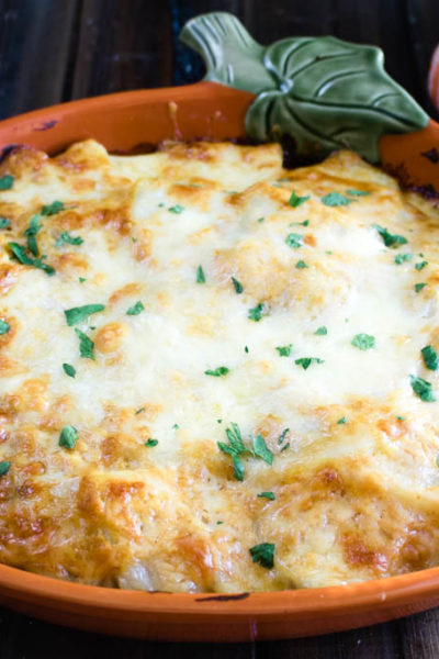 Pumpkin and Cheddar Scalloped Potatoes