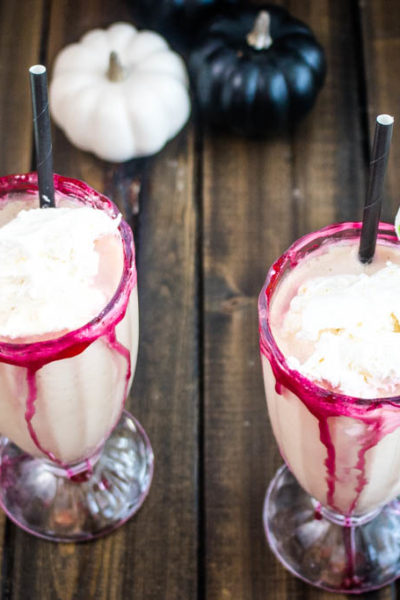 Bloody Candy Apple Milkshake