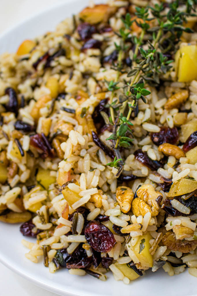 cranberry apple pecan wild rice