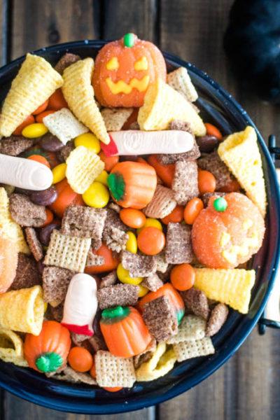 Halloween Hash Snack Mix