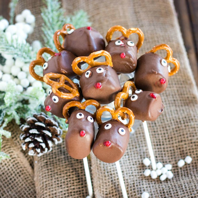 huddled reindeer pops