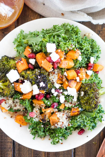 Roasted Winter Veggie & Quinoa Salad