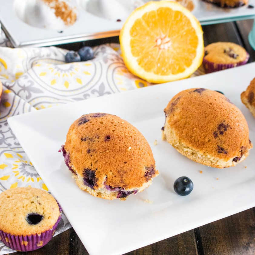 Blueberry & Orange Muffins