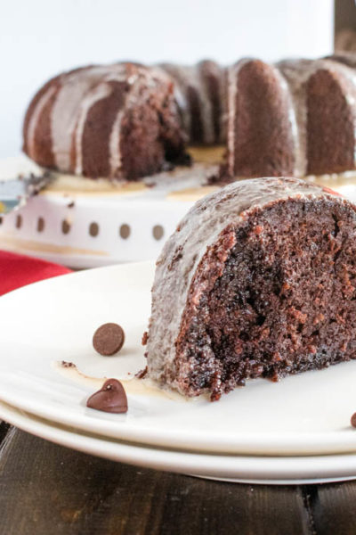 Brownie Batter Mocha Bundt Cake