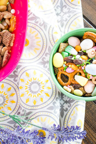 Sweet & Salty Easter Snack Mix