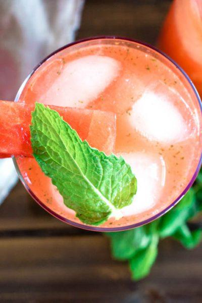 Minty Watermelon Agua Fresca